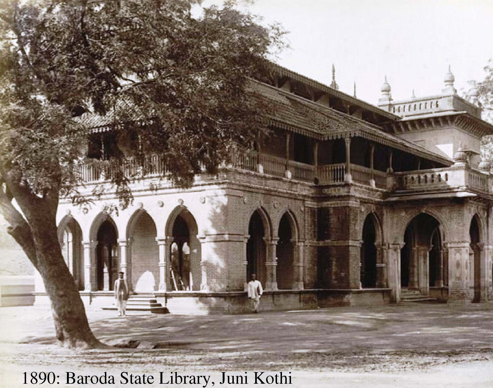1890: Baroda State Library